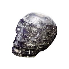 3D Crystal Skull Puzzle by