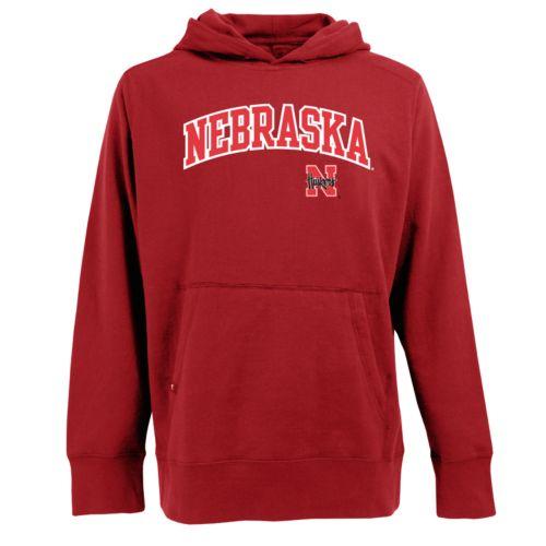 Men's Nebraska Cornhuskers Signature Pullover Fleece Hoodie