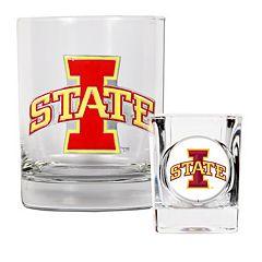 Iowa State Cyclones 2-pc. Rocks Glass & Shot Glass Set