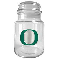 Oregon Ducks Glass Candy Jar