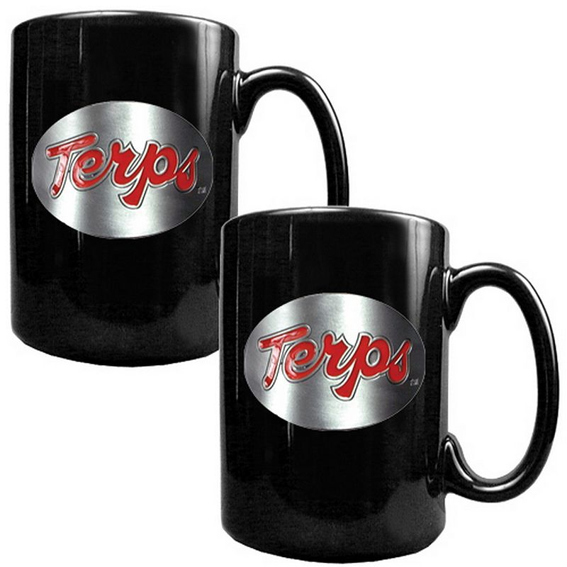 Maryland Terrapins 2-pc. Ceramic Mug Set