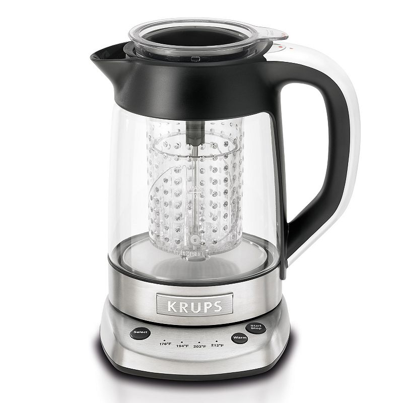 Krups 2-in-1 Electronic Tea Kettle and Water Kettle