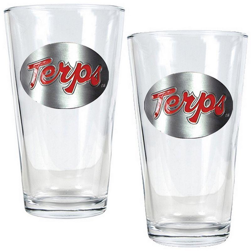 Maryland Terrapins 2-pc. Pint Glass Set