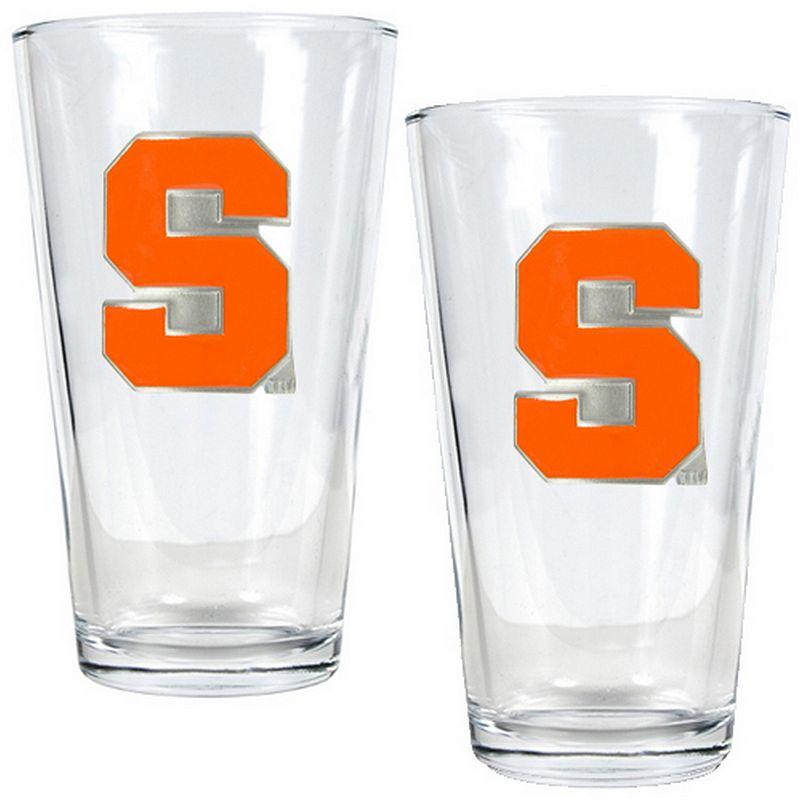 Syracuse Orange 2-pc. Pint Glass Set