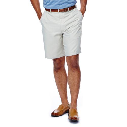 Haggar® Cool 18® Plain-Front Microfiber Shorts - Big & Tall