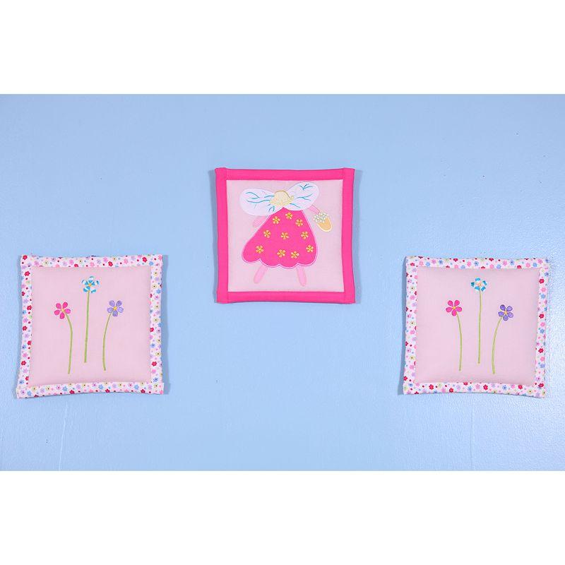 Bacati 3-pc. Fairy Land Wall Hanging Set