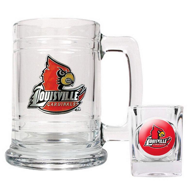 Louisville Cardinals 2-pc. Mug and Shot Glass Set