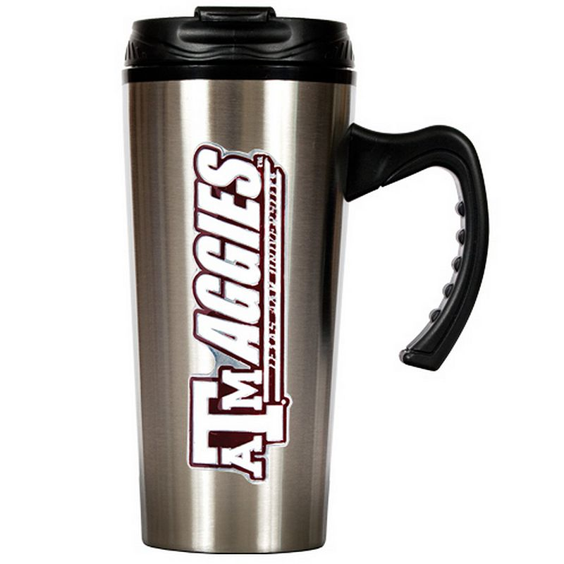 Texas A and M Aggies Stainless Steel Travel Mug