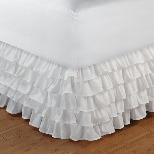Tiered Ruffle Bedskirt Full