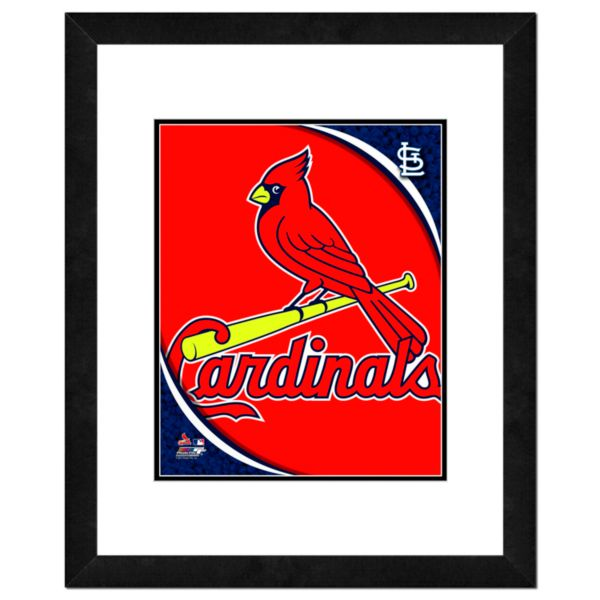 St. Louis Cardinals Framed Logo