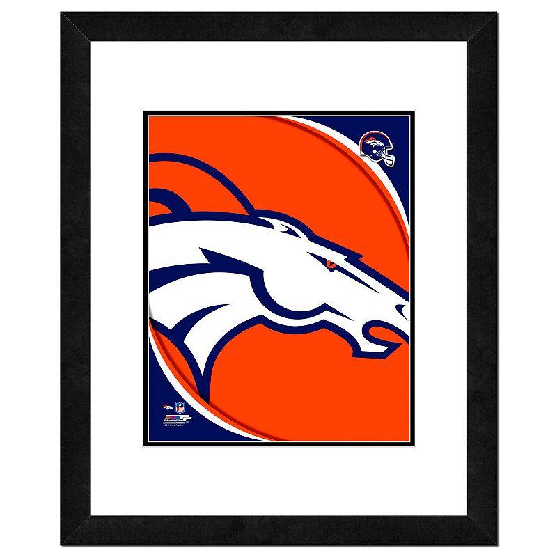 Denver Broncos Framed Logo