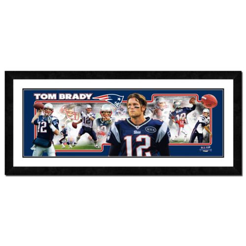 Tom Brady Framed Player Photoramic