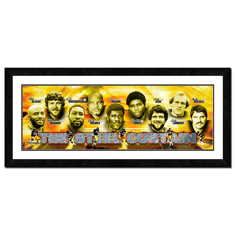 Pittsburgh Steelers Framed Team Photoramic