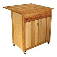 Catskill Craftsmen Drop Leaf Kitchen Cart