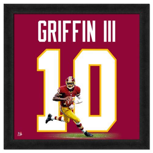 Robert Griffin III Framed Jersey Photo