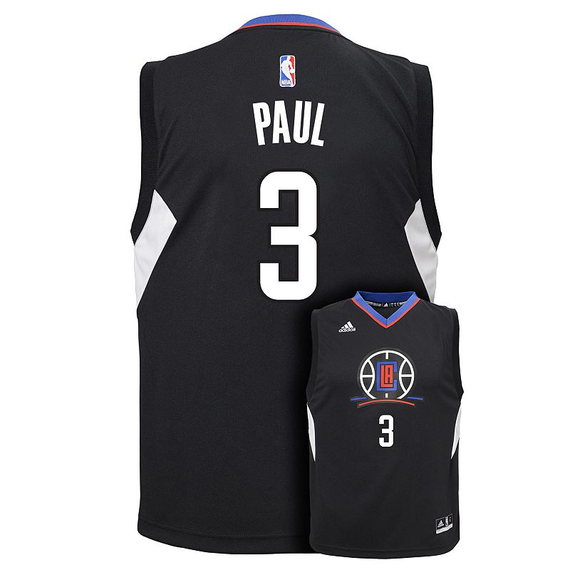 Boys 8-20 adidas Los Angeles Clippers Chris Paul Replica Jersey