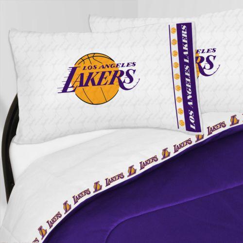 Los Angeles Lakers Sheet Set - Twin