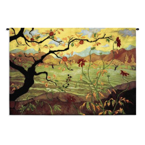 PCI Apple Tree with Red Fruit Tapestry Wall Decor