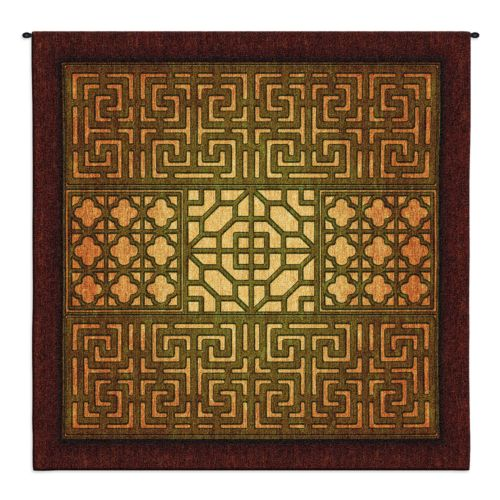 Fine Art Tapestries Eastern Lattice Tapestry Wall Decor
