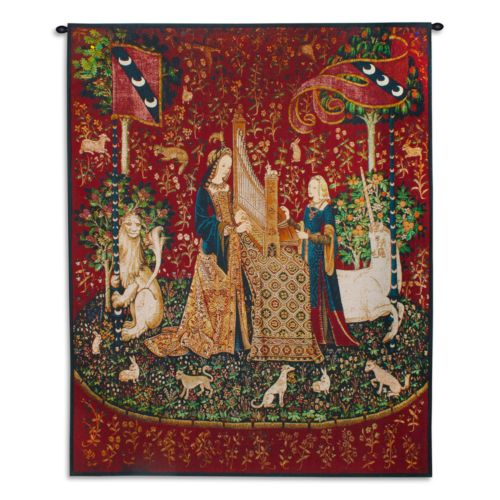 PCI Lady and the Unicorn - Sound Tapestry Wall Decor