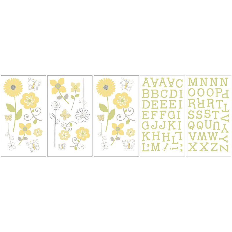 NoJo Bright Blossom Wall Decals