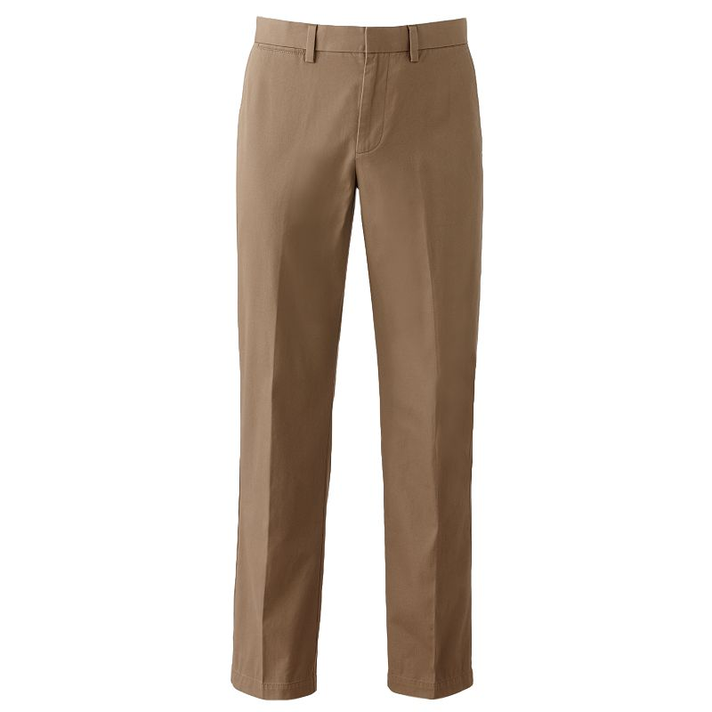Men's Apt. 9® Modern-Fit Cotton Chino Flat-Front Pants