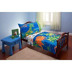 Everything Kids 4-pc. Dinosaur Toddler Bedding Set