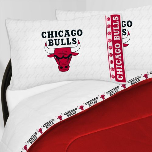 Chicago Bulls Sheet Set - Twin