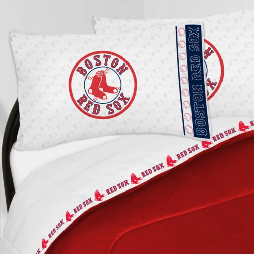 Boston Red Sox Sheet Set - Twin
