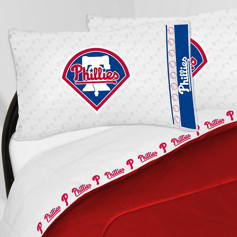 Philadelphia Phillies Sheet Set - Queen