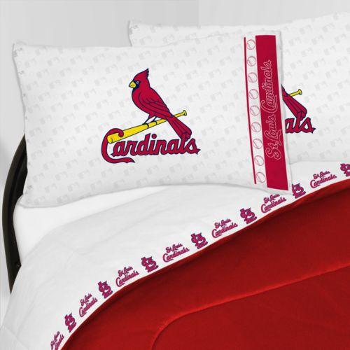 St. Louis Cardinals Sheet Set - Queen