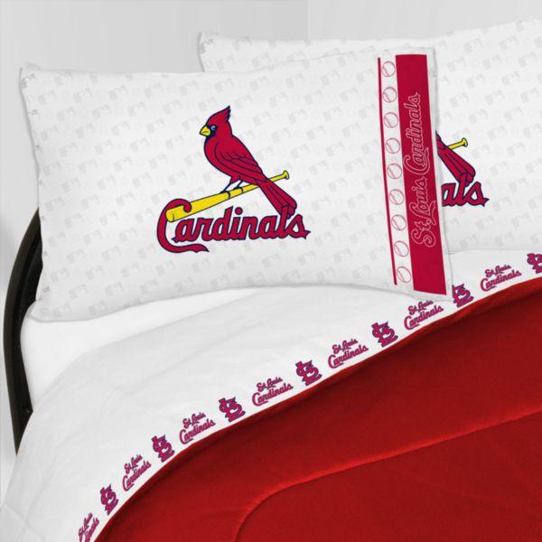 St. Louis Cardinals Sheet Set - Twin