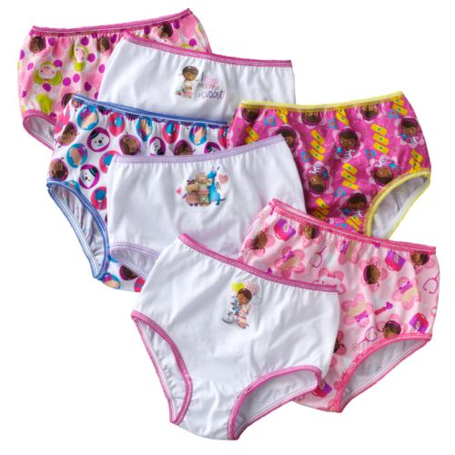 Disney Doc McStuffins 7-pk. Panties - Toddler