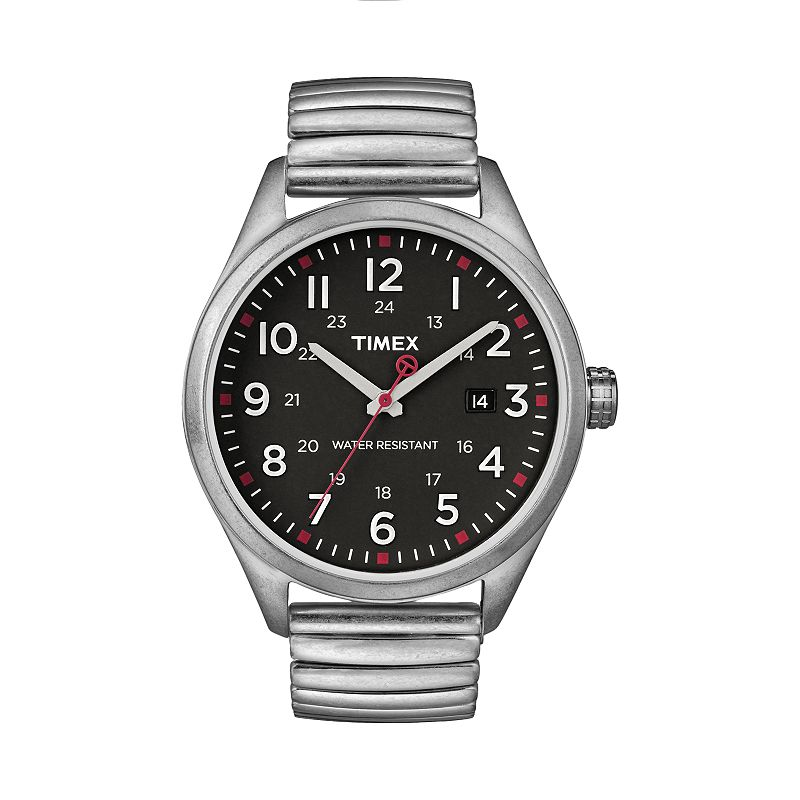 Timex Men's Stainless Steel Expansion Watch - T2N3109J