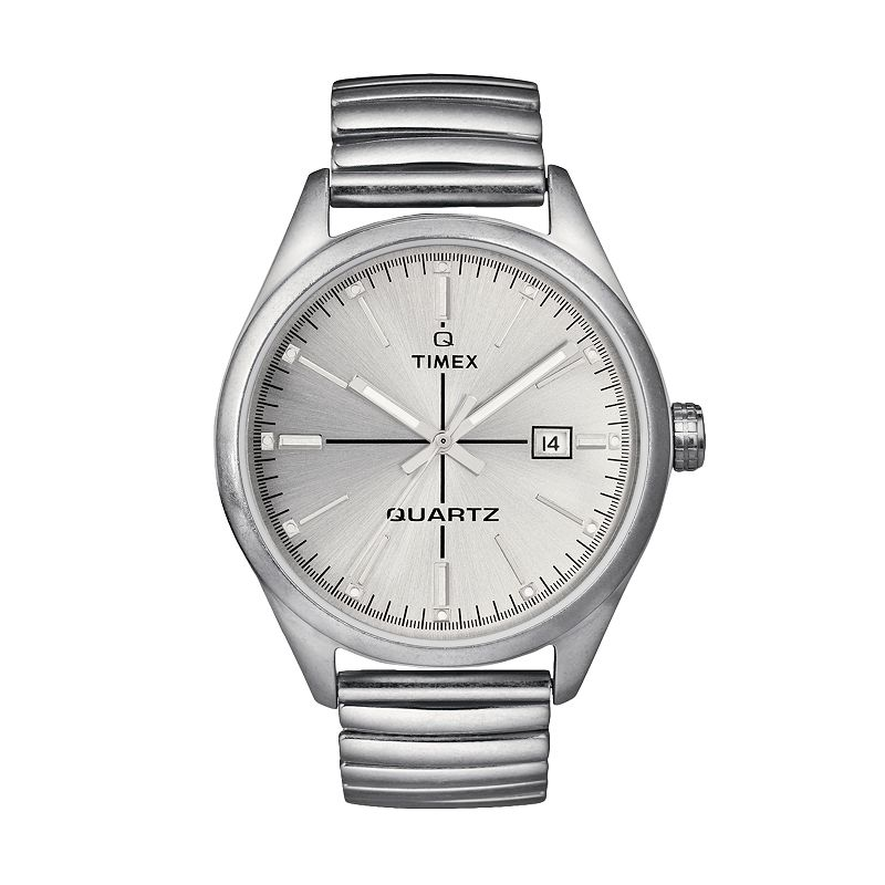Timex Men's Stainless Steel Expansion Watch - T2N4039J