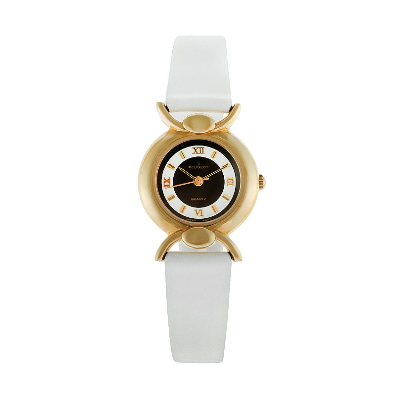 Peugeot Women's Leather Watch - 380-12