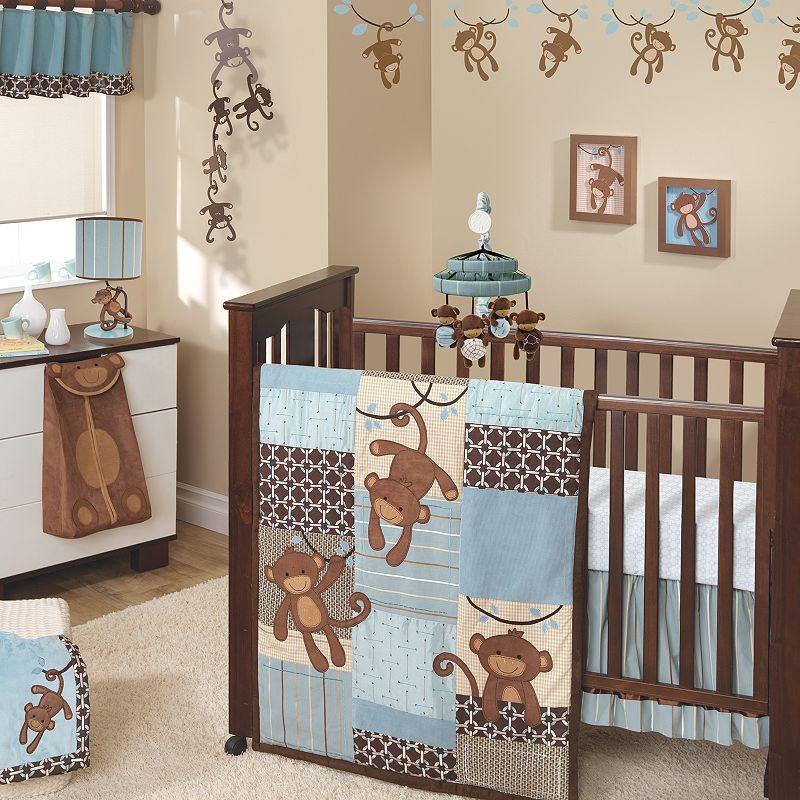 Lambs and Ivy Giggles 5-pc. Crib Set