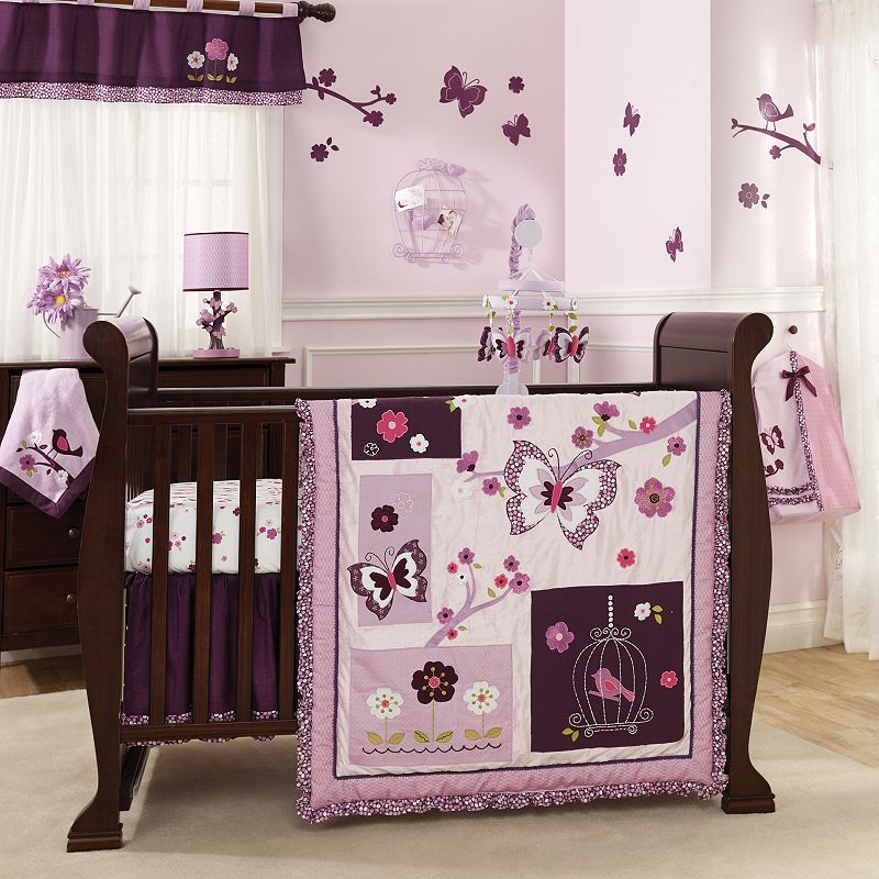 Lambs and Ivy 5-pc. Plumberry Crib Set