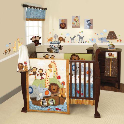 Lambs and Ivy S.S. Noah 5-pc. Crib Set