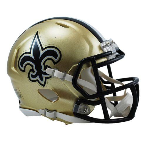 Riddell New Orleans Saints Revolution Speed Mini Replica Helmet