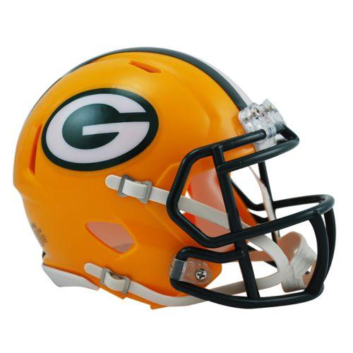 Riddell Green Bay Packers Revolution Speed Mini Replica Helmet