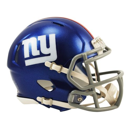 Riddell New York Giants Revolution Speed Mini Replica Helmet