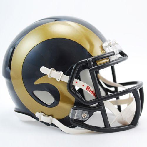 Riddell St. Louis Rams Revolution Speed Mini Replica Helmet