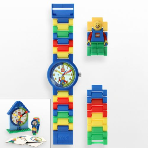 LEGO Time Teacher Blue Watch and Construction Clock Set - 9005008 - Kids