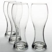 Libbey Craft Brew 4-pc. Wheat Beer Glass Set, White