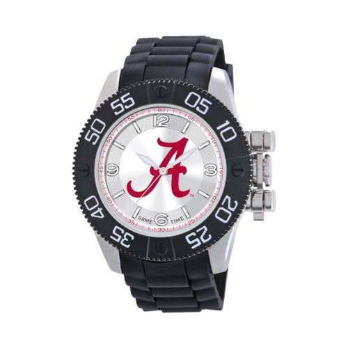 Game Time Beast Series Alabama Crimson Tide Stainless Steel Watch - COL-BEA-ALA2 - Men