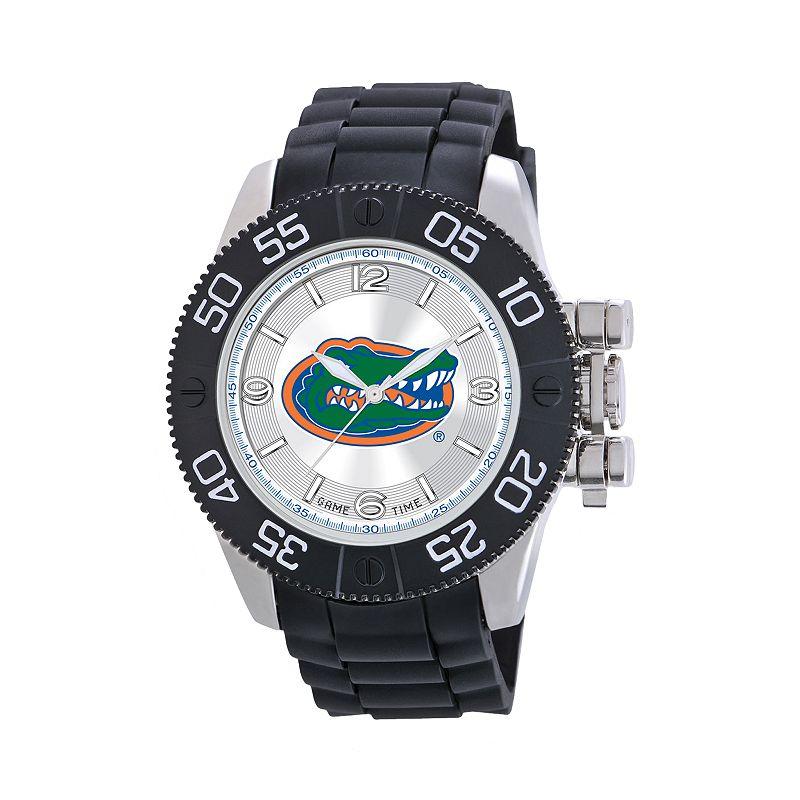 Game Time Beast Series Florida Gators Stainless Steel Watch - COL-BEA-FLA - Men