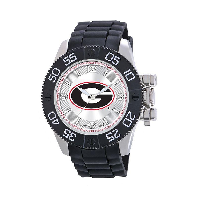 Game Time Beast Series Georgia Bulldogs Stainless Steel Watch - COL-BEA-GEO - Men