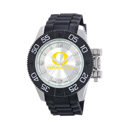 Game Time Beast Series Oregon Ducks Stainless Steel Watch - COL-BEA-ORE - Men