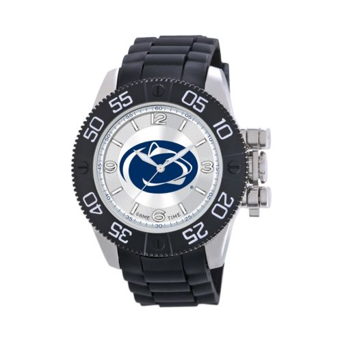 Game Time Beast Series Penn State Nittany Lions Stainless Steel Watch - COL-BEA-PEN - Men